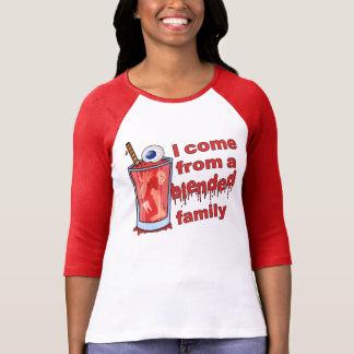 Retruécano mezclado divertido de la familia camisetas