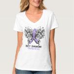 Rett Syndrome Awareness Butterfly T-Shirt