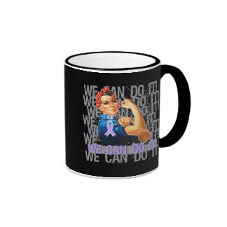 Rett Syndrome Rosie WE CAN DO IT Coffee Mugs