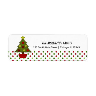 Return Address Dots Return Address Labels