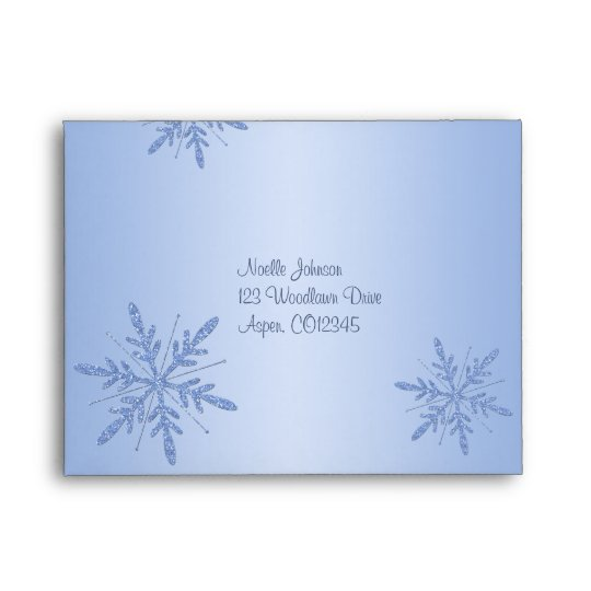 Return Address Envelope A2 for Reply Card