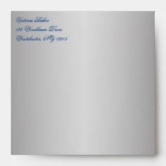 Return Address Envelope for 5 Square Invitation