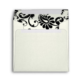 "Return Address Envelope for 5"" Square Invitation"