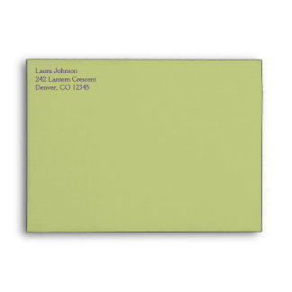 "Return Address Envelope for 5""x7"" Products"
