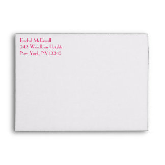 "Return Address Envelope for 5""x7"" Size Products"