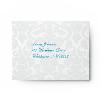 Return Address Envelope for Reply Cards envelope