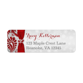 Return Address Label 1 | Wrapped in Love