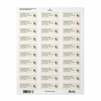 Return Address Label Sheet