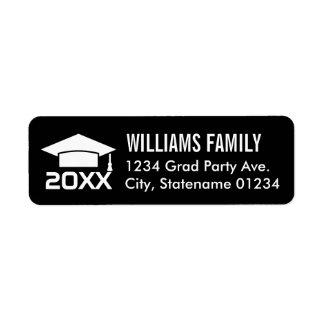 Return Address Labels | 2017 Graduation Cap