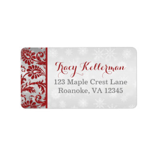 Return Address Labels 2 | Wrapped in Love