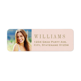 Return Address Labels | Antique Gold Photo Design