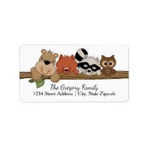 Return Address Labels │ Forest Animals