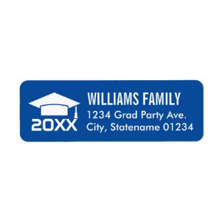Return Address Labels | Graduation Cap Design