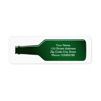 Return address labels | Message in a bottle