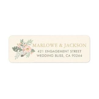Return Address Labels | Spring Vintage Boho