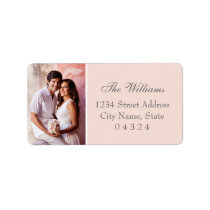 Return Address Labels | Wedding Photo Design