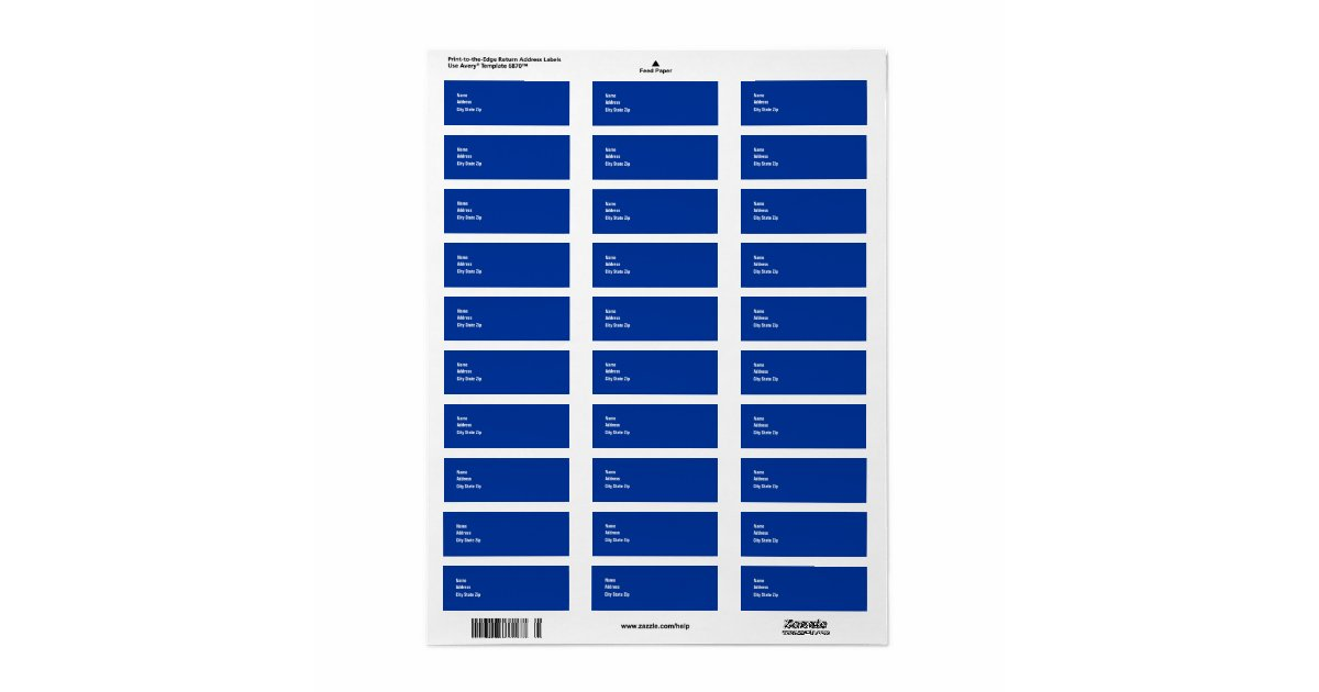 30 address labels template