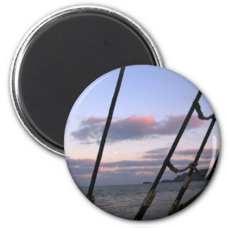 Return by Moonlight 2 Inch Round Magnet