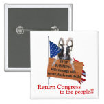Return Congress to the People! Button