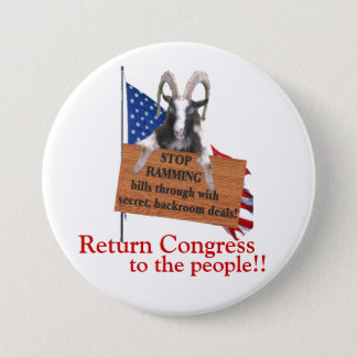 Return Congress to the People! Pinback Button