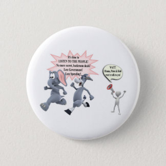 Return Congress to the People Stop Secret Meetings Button