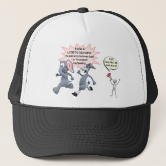 Return Congress to the People Stop Secret Meetings Trucker Hat