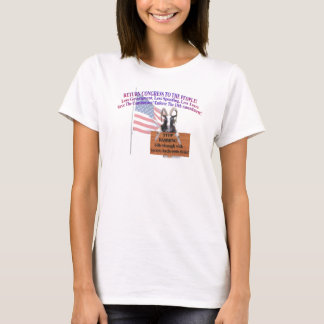 Return Congress to the People! T-Shirt