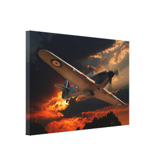 Return from Patrol Canvas Print