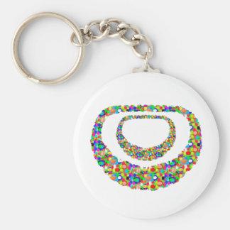 RETURN GIFTS: children,family,occasion,custom,host Basic Round Button Keychain