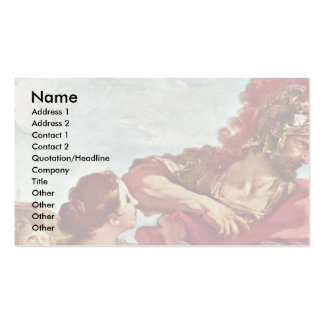 Return Jephthah By Pellegrini Giovanni Antonio Double-Sided Standard Business Cards (Pack Of 100)
