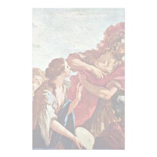 Return Jephthah By Pellegrini Giovanni Antonio Stationery