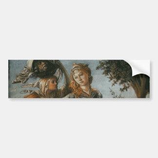 Return of Judith to Bethulia by Botticelli Car Bumper Sticker