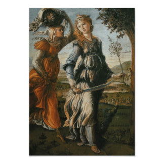 Return of Judith to Bethulia by Botticelli Card