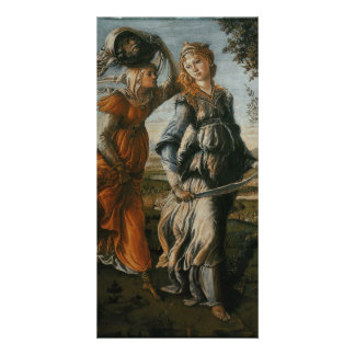 Return of Judith to Bethulia by Botticelli Picture Card
