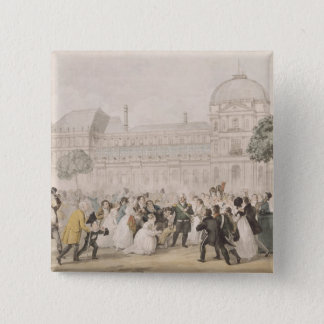 Return of Louis XVIII  to Paris, 8th July 1815 Pinback Button