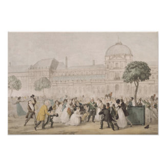 Return of Louis XVIII  to Paris, 8th July 1815 Poster