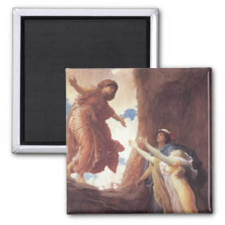 Return of Persephone - Lord Frederic Leighton 2 Inch Square Magnet