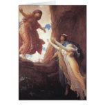 Return of Persephone - Lord Frederic Leighton Greeting Cards