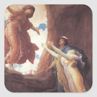 Return of Persephone - Lord Frederic Leighton Square Sticker