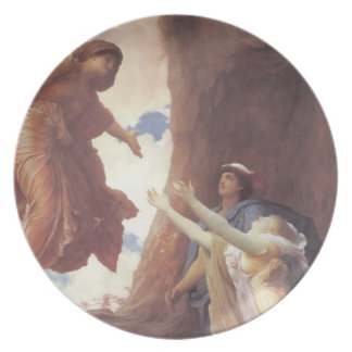 Return of Persephone Melamine Plate