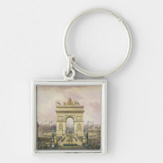 Return of the Ashes of the Emperor to Paris Keychain