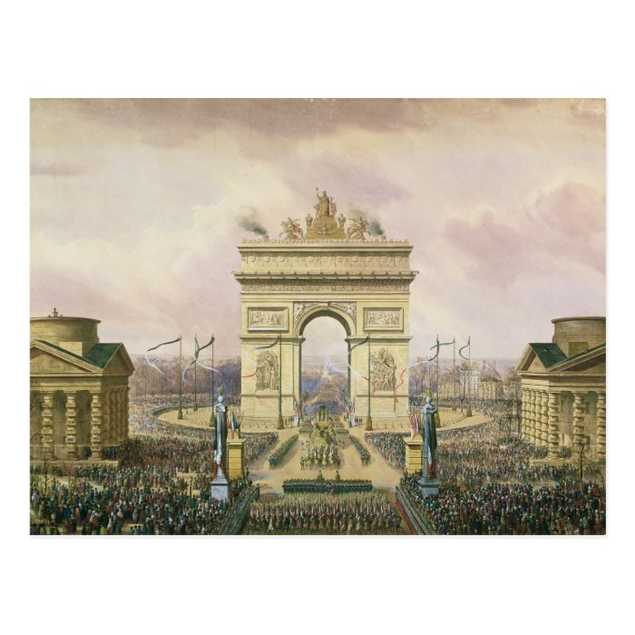 Return of the Ashes of the Emperor to Paris Postcard