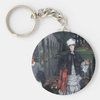 Return of the boat trip by James Tissot Key Chains
