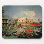 Return of the Bucintoro on Ascension Day Mouse Pad