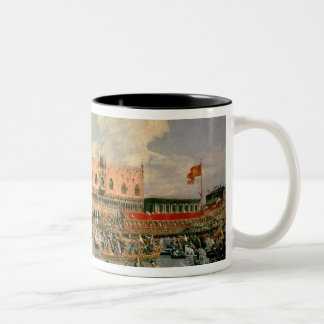 Return of the Bucintoro on Ascension Day Mug
