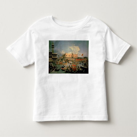 Return of the Bucintoro on Ascension Day Toddler T-shirt