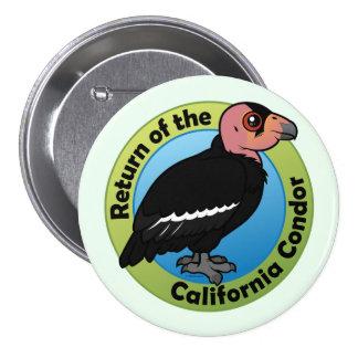 Return of the California Condor Buttons