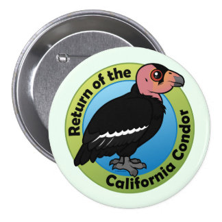 Return of the California Condor Buttons