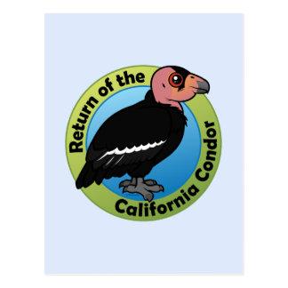 Return of the California Condor Postcard