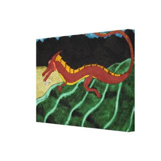 Return Of The Dragon Canvas Print